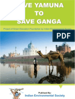 Project on Save Yamuna to Save Ganga