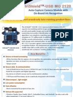 IriShield™ USB MO 2120 Flyer - Iris Recognition Scanner Chipset