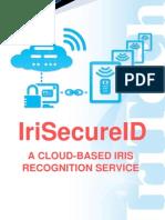 IriSecureID Brochure - Cloud-based iris Recognition Service