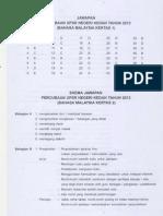 Percubaan Kedah 2013 BM 1&2