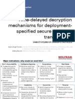 Puniani, Arjan Singh - Time-Delayed Decryption Candidate Protocols
