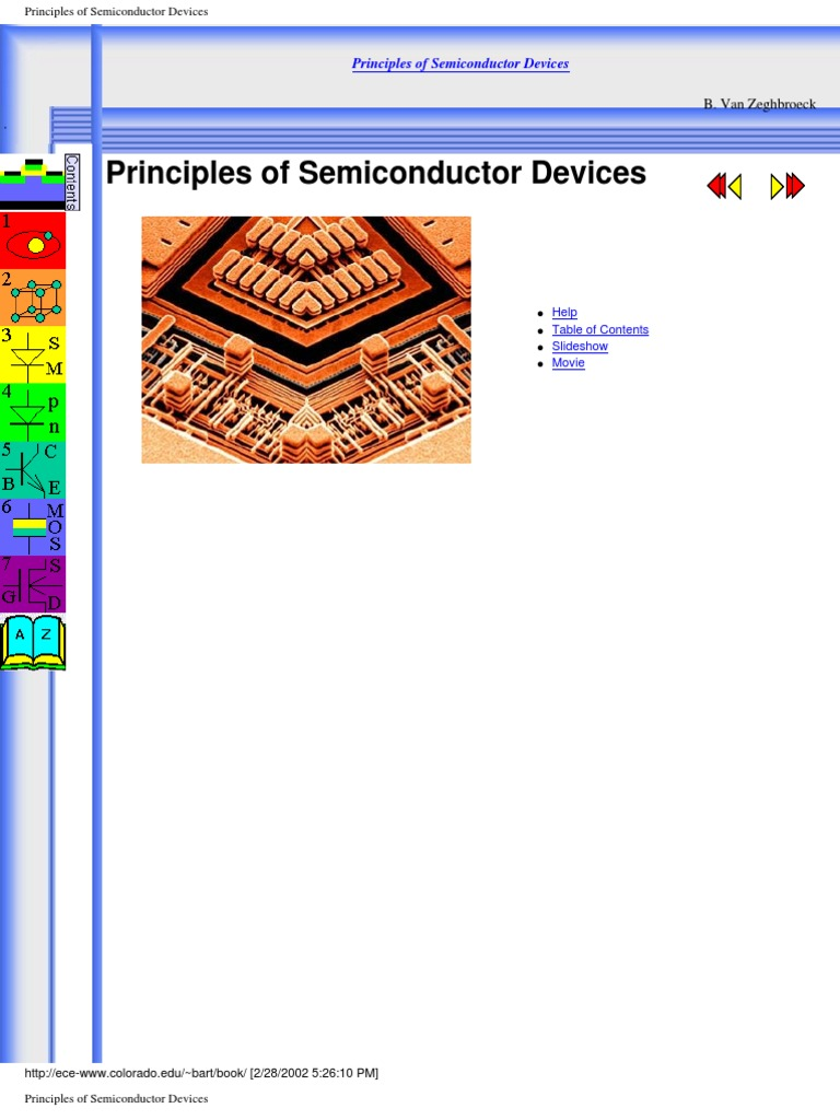 "semiconductor devices Semiconductor devices are responsible for the arrival of the ""computer age"" or the ""second industrial revolution"" at the heart of the information and communication technologies, ics of all descriptions also find applications in consumer electronics."