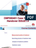 OMF000401 Case Analsyis Handover Training 20031001 a 1.4