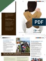 Sleepy Wrap Benefits of Babywearing Brochure - Dutch