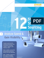12 Steps to Strategic Sourcing