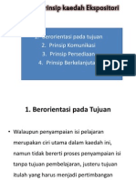 Prinsip-Prinsip Kaedah Ekspositori