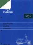 Manuale d'Officina Vespa PX in Italiano.