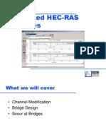 15 Advanced HEC-RAS Features