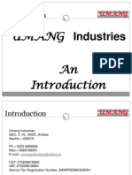 Umang Industries-Company Profile