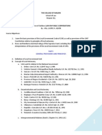 Public Corporation Course Outline - The College of Maasin First Sem Sy 2013-2014-1