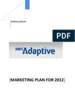 New Media Software Marketing Plan 2012