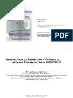 Mercosur e Inversiones