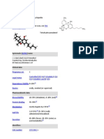 Tetrahydro Cannabinol