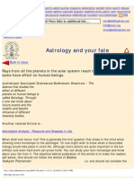 Astrology and Your Fate