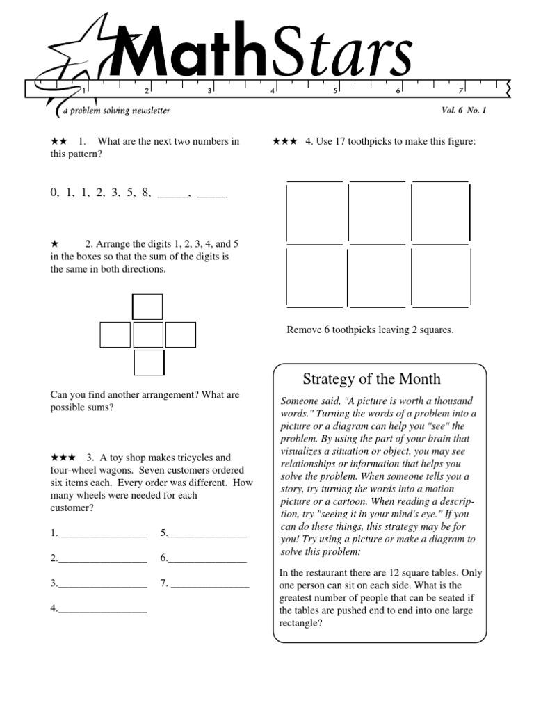 Grade 6 Math Stars | Fraction (Mathematics) | Physics & Mathematics