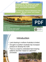Spatial Assessment of the Impact of Land Clearing on Water Balance (1)e