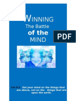 Winning the Battle of the Mind Day 1
