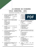 21 Dirg. Economía (PRESUPUESTO NACIONAL) Anual-2004.