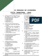 Dirg. Economía (Cuentas Nacionales - Deuda Publica ) Semestral-2005.