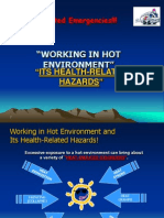 Working in Hot Environment