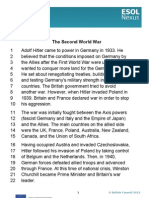 The Second World War Transcript