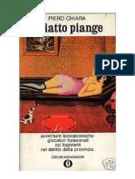 Piero Chiara - Il Piatto Piange