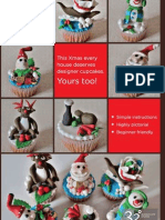 Magical Christmas Cupcakes - DiY Guide