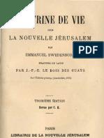 Em-Swedenborg-DOCTRINE-DE-VIE-POUR-LA-NOUVELLE-JERUSALEM-Le Boys Des Guays-1884