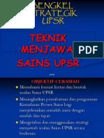 Kaedah Menjawab soalan Sains UPSR Siri 2
