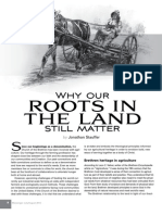 Why Our Roots in the Land Still Matter