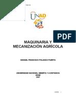Maquinaria y Mecanizaci n Agr Cola