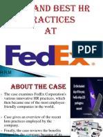 Hrm Practices Fedex