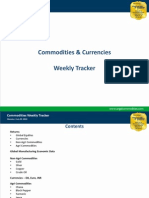Commodities Weekly Tracker, 29th July 2013