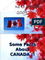 Welcome to Canada Presentation