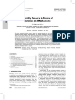 Document about humidity sensors