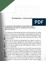 Corres, P. Razón y experiencia en la psicología