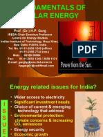 Fundamental of Solar Energy