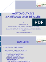 Photo Voltaic Materials and Devices