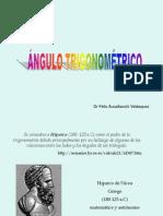 CAP 1.1 - ÁNGULO TRIGONOMÉTRICO
