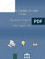 Expo Cierre de Minas