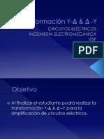 Transformación Y-Δ