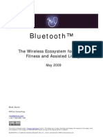 Bluetooth the Wireless Ecosystem for Health Fitness and Assisted Living