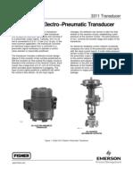 Electro−Pneumatic Transducer