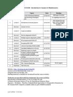 BCHM62Graduate Program in Biomedical Sciences  Syllabai8_Syllabus_2013
