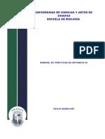 Manual de Practicas de Botanica III