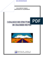Catalogue Structures Types Chaussees Neuves