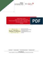 Anomia social y salud pública