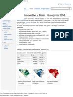 Popis Stanovnistva u Bosni i Hercegovini 1953. - Wikipedia