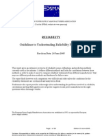 Guidelines to Understanding Reliability Prediction