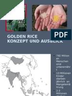Golden Rice – konzept und ausblick neu